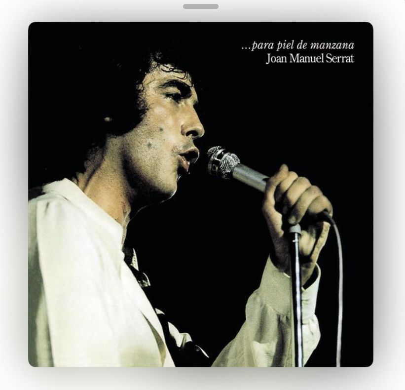 Joan Manuel Serrat albums ranked. (Spanish and English versions)