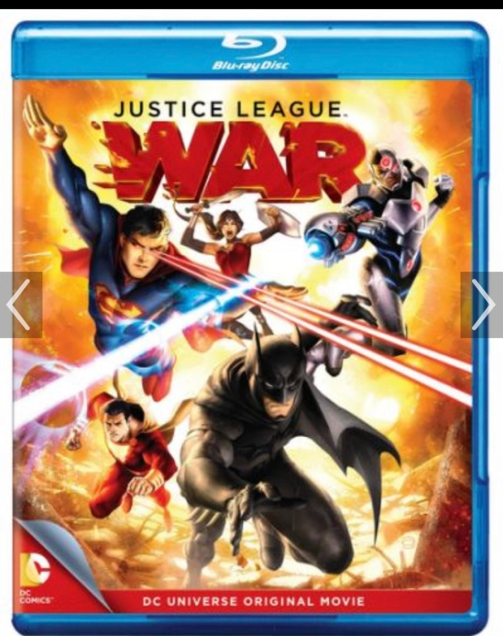The Justice League: War(2014)