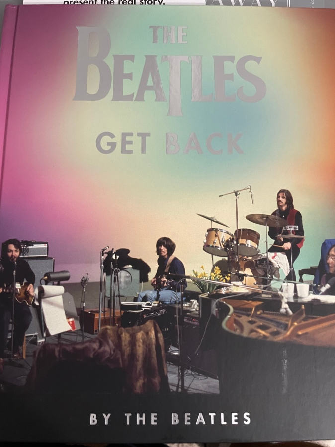 The Beatles: Get Back (2021) –Book